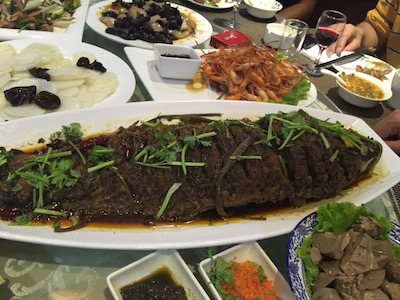2015DongPingDinnerRestaurantBigFish.JPG